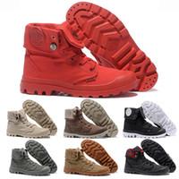 Kaufen Sie im Großhandel Segeltuch Armee Grünen Schuh Hohen