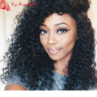 Wholesale beyonce lace wigs hairstyles for sale - Group buy Virgin Brazilian Beyonce Curly wigss Glueless Full Lace wigss Curly Remy Human Hair For Black Women With Natual Hairline