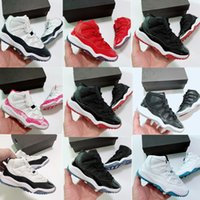 Wholesale navy blue shoes girls for sale - Group buy Youth Girls Bred s Big Children Boys Lady Junior Basketball Sneaker Shoes Pink Navy Blue Snakeskin Trainers Size y y y