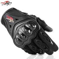 alpiner handschuh großhandel-MCS42 Motorradhandschuhe Rennhandschuhe Touchscreen Atmungsaktiv Tragbare Ritter-Schutzhandschuhe Guantes Moto Luvas Alpine Motocross