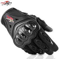 motokros yarış eldivenleri toptan satış-MCS42 Motosiklet Eldiven Yarış Eldiven Dokunmatik Ekran Nefes Giyilebilir Şövalye Koruyucu Eldiven Guantes Moto Luvas Alp Motocross