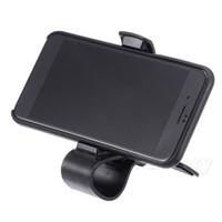 iphone akıllı cep telefonu toptan satış-Evrensel Ayarlanabilir Araç Dashboard Telefon Tutucu Dağı Akıllı Cep Telefonu GPS iPhone Için kelepçe Klip Braketi Standı X ...