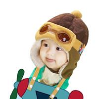 kızlar külahı kulaklıklar toptan satış-2019 yeni sonbahar kış bebek şapkalar erkek etkilidirler şapka çocuklar tasarımcı şapkalar sevimli kız şapkalar Çocuk Kap bebek aksesuarları