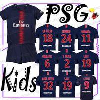 Wholesale hot sale jersey soccer resale online - YOUTH JERSEYS Cavani Mbappe Verratti Di Maria new Customizable Hot sale High quality club team Football uniform