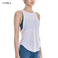 Wholesale women s racerback tank tops resale online - Women s Workout Tank Tops Racerback Yoga Tops Running Sports Gym Fast Dry