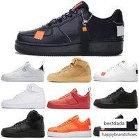 Wholesale sneakers boys orange for sale - Group buy Running Shoes for Men Women Dunk Utility White Black Orange Pink Wheat High Low Mens Trainers Sports Sneakers Skateboard Shoe