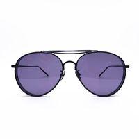 lunettes roses grand objectif achat en gros de-GENTLE MONSTER big bully UV400 Protection transparent rose lentille luxe lunettes de soleil femmes hommes Marque lunettes de soleil oculos de sol