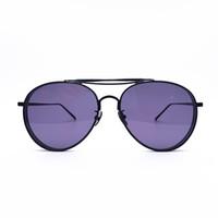 rosa große linsengläser großhandel-GENTLE MONSTER große Tyrann UV400 Schutz transparente rosafarbene Objektivart und weiseluxusgläser Frauenmänner Markensonnenbrille oculos de sol