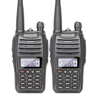 Wholesale walkie talkie vhf baofeng resale online - 10pcs Baofeng UV B6 Dual Band Radio VHF and UHF Walkie Talkie Way Radio new