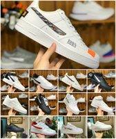 id spor ayakkabıları toptan satış-Kadınlar Sneakers Düşük Kesim One 1 Dunk Zorla Tasarımcı Atletik Spor Eğitmenler Zapatos CHAUSSURES İçin 2019 Yeni Kuvvetleri Kimlik Hava Erkek Koşu Ayakkabı