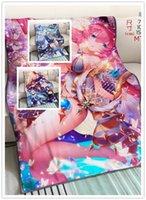 spiel japan heiß großhandel-Hot Spiel Mode Anime Customized Decke Plüsch und Samt warme Dekoration weiches Bett Startseite Wurf Sofa Decke Unisex Geschenke NEU