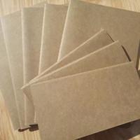 a6 merkzettel großhandel-A6 Notebuch des Notizbuches des Notizbuches des Notizbuches A6 täglich weiche Notizbuchkraftpapierabdeckung-Notizbuchnotizblock