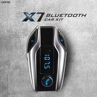 araba mp3 usb sd mmc toptan satış-CARPRIE Bluetooth Araç Kiti X7 Eller serbest FM Verici Radyo MP3 Çalar USB Şarj SD TF MMC LCD Uzaktan TJ