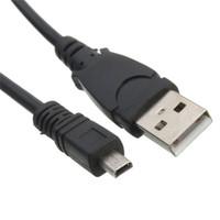 cabo ec e6 venda por atacado-Usb uc-e6 usb cabo de dados / cabo de transferência de foto cabo de fio de chumbo para nikon e samsung câmera-1.2 m 4ft 1.5 m 5 pés alta quanlity marca de fábrica