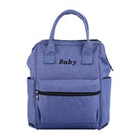 Wholesale child diapers for sale - Group buy MUQGEW Women Maternal And Child Handbag Large Capacity Baby Carriage Bottle Diaper Bags mummy backpack g35