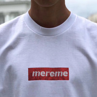 рубашки оптовых-19SS Box логотип X Swaroovski 25-летие тройник Мужчины Женщины пара летняя мода повседневная улица футболка S-XL HFLSTX417