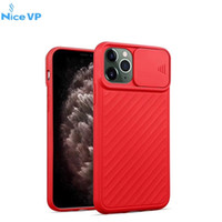 Wholesale case horizontal black for sale – best 2020 New Soft TPU Anti Scratch Shockproof Phone Case For iPhone pro Max XR XS Max plus with Horizontal Sliding Window