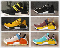 Wholesale pharrell williams human race nmd for sale - Group buy Hotsale NMD Human Race Pharrell Williams TR Shoes Sports Running Shoes discount Athletic mens Outdoor Training Sneaker Size
