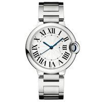 relógios amante venda por atacado-2019 bom bom novo relógio de luxo de prata moda assista homens inoxidável stell mulheres relógio de pulso relógio unisex amantes amantes whosale dropshipping