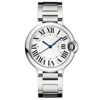 relojes amantes de lujo al por mayor-2019 Niza buen reloj nuevo Moda de plata de lujo Hombres Relojes de acero inoxidable Relojes de pulsera Relojes unisex amantes reloj whosale dropshipping