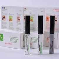 Wholesale eyelid makeup tools online - New Arrival Eyelash Adhesives Eye Lash Glue Double Eyelids Glue brush on Adhesives Vitamins White Clear Black g Makeup Tool