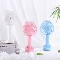 Wholesale cooling spray fans resale online - Portable USB Rechargeable Humidifier Fan Handheld Mini Air Cooling Fan Water Spray Mist Cooler for Office Outdoor Use Supplies