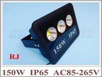 angle du faisceau lumineux achat en gros de-Angle de rayonnement à 90 ° avec réflecteur en forme de réflecteur Éclairage LED Projecteur 150W (3 * 50W) AC85-265V 12000lm Aluminium CE