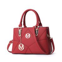Wholesale red crossbody handbags resale online - Pink sugao designer handbags tote bag crossbody pu leather women shoulder bag new style women purse crossbody color