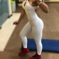 Wholesale gray pink yoga pants resale online - KYLIE PINK New Fitness Clothing Women s One pieces Sports Suit Set Workout Gym Fitness Jumpsuit Pants Sexy Yoga Set Bandage Gym Bodysuit