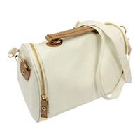 модные сумки для фотоаппаратов оптовых-Fashion Women Handbag Vintage Stamping Shield Camera Satchel Shouder Bags Beige