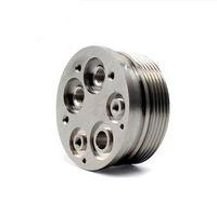 partes del eje al por mayor-Mecanizado de precisión Custom CNC 5 Axis Medical Machined Titanium Surgical Parts Alta calidad barato titanio CNC mecanizado de precisión