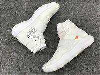 ingrosso scarpe da uomo nero-2019 Miglior vendita Air Shoelaces Hyperdunk Chicago Powder Blue UNC Blazer Mid 97 Zoom Fly Presto Nero White Off Men Sneakers donna