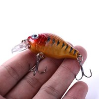 Wholesale minnow lure topwater resale online - HENGJIA mm g Crankbait Fishing Lure Artificial Hard Crank Bait Bass Fishing Wobblers Japan Topwater Minnow Fish Lure