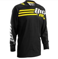 camisas de ciclismo unisex venda por atacado-NOVA 2019 ATV Ciclismo Jerseys Moto GP Mountain Bike TShirt Da Motocicleta Downhill Jersey Roupas Unissex Roupas de Ciclismo