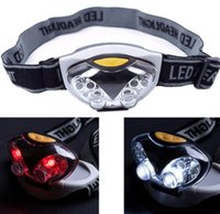 Wholesale headlamp led bulb resale online - New LED bulbs Headlamp Owl Fishing Head Light with Bulb Headlamps for Cycling Camping Headllight head lamp flashlight