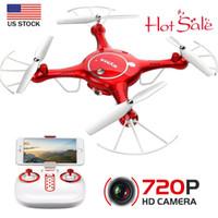 Wholesale syma x5uw for sale - 2019 Original Syma X5UW Wifi FPV RC Drone P HD Camera RTF Headless Set Height U2C9