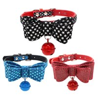 Wholesale plaid dog collars for sale - Group buy Plaid Printing Polyester Dog Collar Dog Leash for All Cats and Small Medium Large Dogs With Bowknot Pet Collar Pet Leash