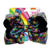 çocuklar saç dökülmesini bling toptan satış-8 inç Jojo Firkete Glitter Mermaid Çevirme Pullu Büyük Yay Tokalarım Çocuk Bling Saç Klip Saç Aksesuarları çocuklar sequins Firkete KKA7119
