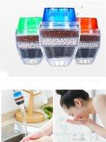 purificador de cartucho venda por atacado-New Garden Home Casa Cozinha Mini Toque torneira filtro de água limpa Purifier Cartridge