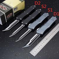 """strider messer smf d2 groihandel-MT Custom Combat Hellhound Tanto-Messer Dual Action-Automatik (3,8 """"zweifarbig) A07 A161 A162 EDC taktische Messer mit Nylonscheide"""