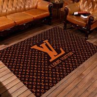 teppich türmatten großhandel-Home Design Luxus Muster freihändig Heimtextilien Schlafzimmer Haustür Mode Rutschfeste Matte Teppich Wohnzimmer Boden Cartoon Fußmatte