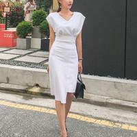 380d2d63d194 Wholesale work long sleeve knee length dress for sale - Group buy 2019  Summer Women Elegant