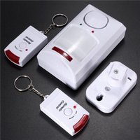 Wholesale wireless wired alarms resale online - Wireless Motion Sensor Alarm IR Infrared Detector Remote Control