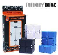 Wholesale fidget toys for children adhd for sale - Group buy Fidget Infinity Cube Toys For Men Women Kids Children ADHD Anti Stress Relief Novelty Toys Decompression Fidget Toys CM