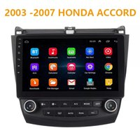 mp3 wifi chino al por mayor-10.1 pulgadas Pure Android 8.1 Car DVD Quad Core 16G ROM 1024 * 600 Pantalla Car Raio para Honda Accord 2003-2007 WIFI MIRROR LINK bluetooth