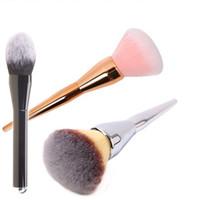 Wholesale blush cosmetic makeup brush for sale - Group buy Flame Makeup Brush Women Lollipop Blending Cosmetic Brushes Foundation Powder Blush Contour Eyeshadow Brushes Makeup Tools GGA2081