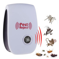 Wholesale electronic mouse repellent for sale - Group buy Ultrasonic Pest Reject Repeller Control Electronic Pest Repellent Mouse Rat Anti Rodent Bug Cockroach Mosquito Insect Killer