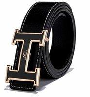 faja de jeans al por mayor-2018 nuevos cinturones deusigner famosos hombres cinturón de alta calidad de cuero genuino Faja 125 cm correa de cintura casual vaqueros vaqueros negros