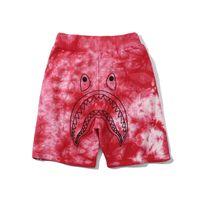 Wholesale cartoon beach shorts for sale - Group buy 2019 New Summer Teenager Gradient Cartoon Print Beach Shorts Men s Casual Camo Cotton Pants