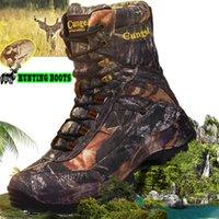 ingrosso scarponi da caccia di montagna-CUNGEL scarpe da trekking scarpe da trekking impermeabili professionali scarpe di viaggio traspiranti Mountain Outdoor scarponi da caccia T190920